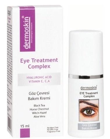 Dermoskin DERMOSKIN Eye Treatment Complex 15 ml - Göz Çevresi Renksiz